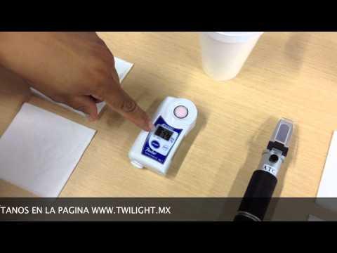 Diferencia entre Refractometro Manual y Digital