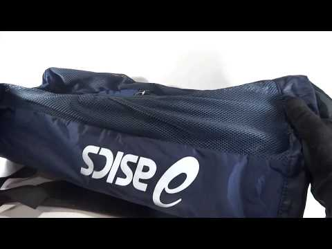 Asics Gear Bag, Navy. JalorFox