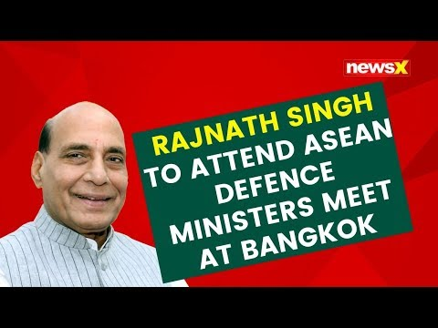 Rajnath Singh to attend ASEAN Defence Ministers meet at Bangkok | NewsX
