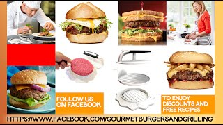 Burger Press Review - How to make the perfect burger with the Yumms! Burger Press