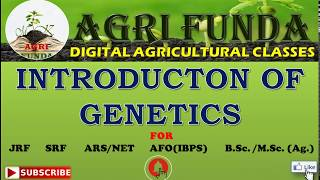 Introduction Of Genetics And Important Terms In Genetics