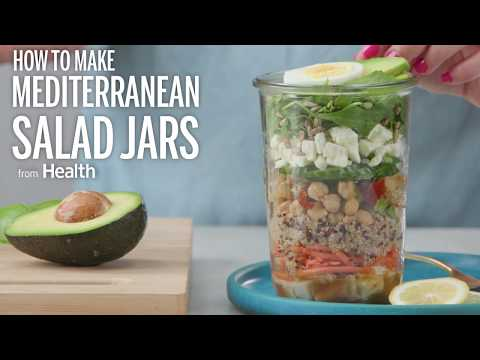 How To Make Mediterranean Salad Jars | Health