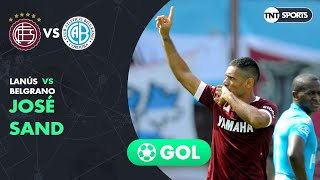 José Sand (1-0) Lanús Vs Belgrano   Fecha 24 - Superliga Argentina 2018/2019