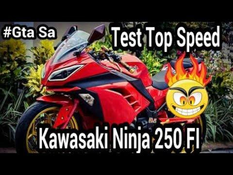 Kawasaki Ninja 250 R Grand Theft Auto San Andreas GTA SA MOD