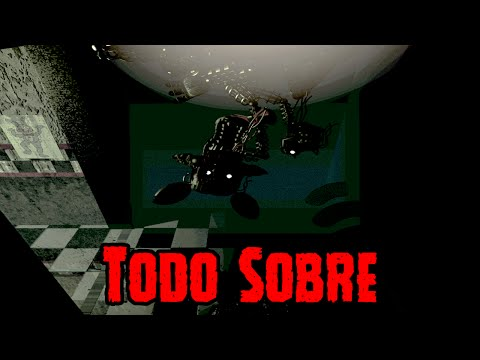 Todo Sobre Phantom Mangle De Five Nights At Freddy's 3 | FNAF 3