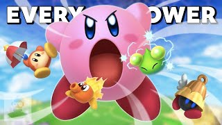 Every Kirby Power Ever | The Leaderboard