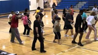S.B.S. (SHUFFLE BOOGIE SOUL) - World's First Flash Mob Line Dance.m2ts