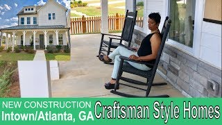 New Craftsman Style Homes In Intown/Atlanta, GA