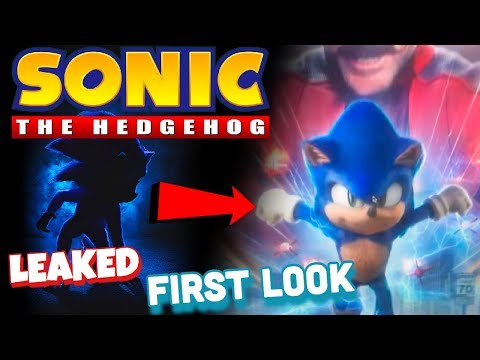 Sonic The Hedgehog Movie LEAKED Redesign!! (Comparison)