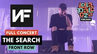 "NF *FULL* LOLLA CONCERT   ""THE SEARCH"" SONGS LIVE *DEBUT*   822019 CHICAGO"