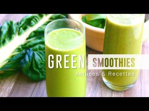 GREEN SMOOTHIES   astuces et recettes