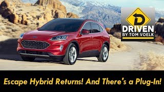 First Drive! The 2020 Ford Escape Hybrid and Plug-In