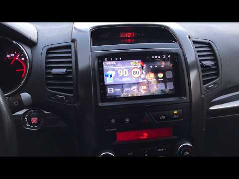 АВТОМАГНИТОЛА MEGAZVUK T3-3996 KIA SORENTO 2009-2012 НА ANDROID 6.0.1 QUAD-CORE (4 ЯДРА) 7