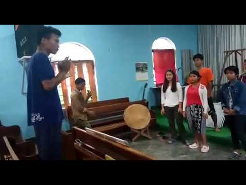 Last song for junior sol-fa trainees