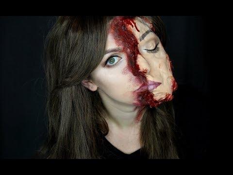 Roztržený Obličej | Halloween Makeup Tutorial