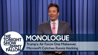 Trump's Air Force One Makeover, Microsoft Catches Russia Hacking thumbnail