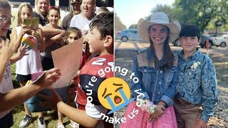 7th Grader Asks Special Date Who Survived Near-Fatal Crash To Homecoming Dance