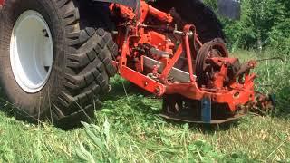Сенокос на тракторе  т 25\Haying on the tractor t 25