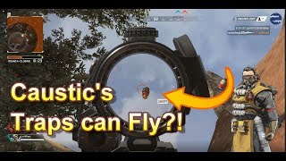 Apex Legends - Caustic's Traps can fly? Also, check out our Trap Room!