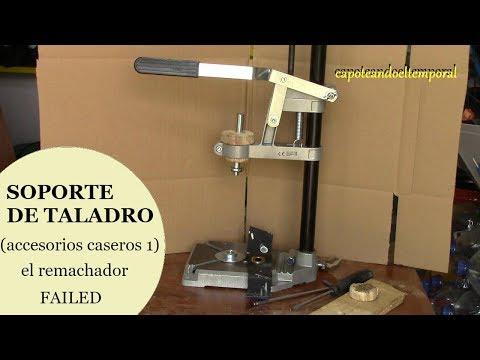 SOPORTE DE TALADRO (accesorios caseros 1 remachador) Failed