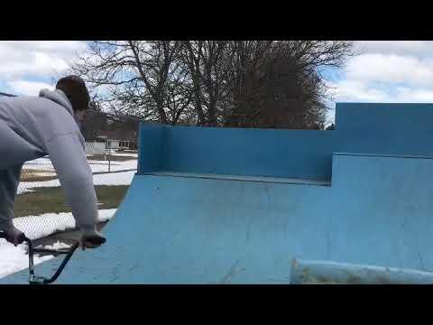 Hour long session at Cortland skatepark
