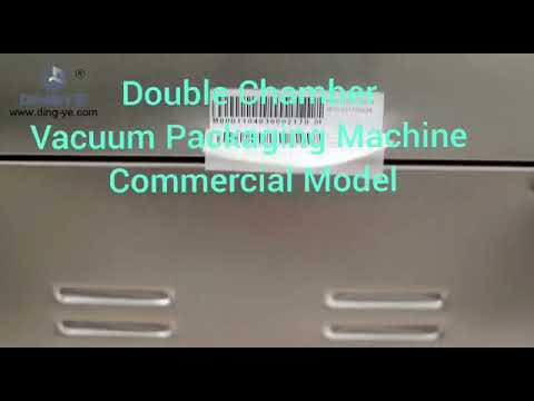 Commercial Double Chamber Vacuum Packaging Machine DZ 500-2SB