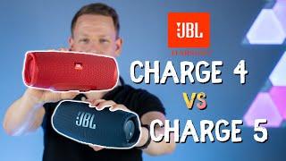 JBL Charge 4 vs. Charge 5 Vergleichstest + Soundcheck: Lohnt sich der Nachfolger?