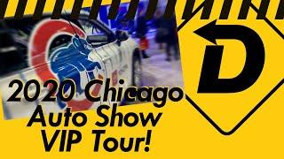 Full 2020 Chicago Auto Show VIP Tour!