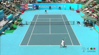 preview picture of video '26th SU Shenzhen (CHN) - Tennis Women's Singles Final'