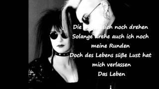 Lacrimosa - Halt mich (Lyrics)