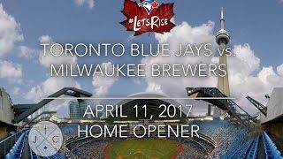 Toronto Blue Jays: Home Opener @ Rogers Centre 4/11/17 - J&C Toronto
