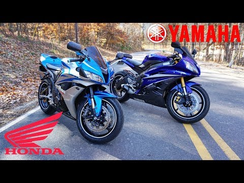 Yamaha R6 vs Honda CBR600rr | The BEST 600cc SPORT BIKE?