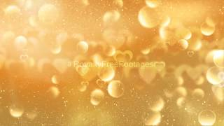 Golden motion background | Gold particles background effect | bokeh background effect