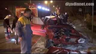preview picture of video 'Yozgat'ta otomobil devrildi: 5 yaralı'