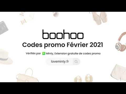 Codes promo Boohoo en Février 2021 - Jusqu'à 10 % de réduction ce moi-ci avec Minty