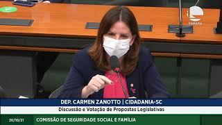 SEGURIDADE SOCIAL - Discussão e Votação de Propostas Legislativas - 20/10/2021 14:00