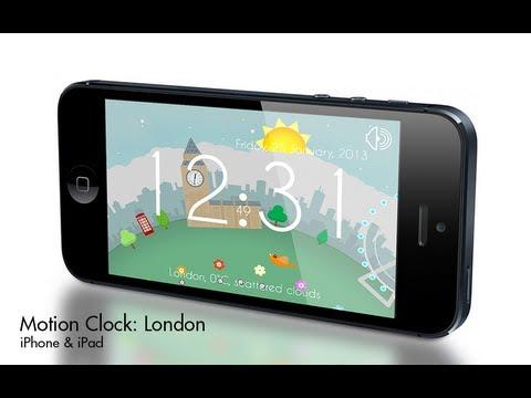 Video of Motion Clock: London