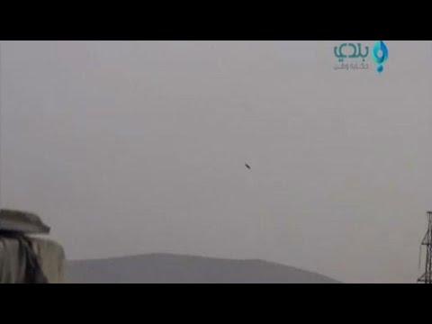 Αεροπορική επιδρομή σε βάση της Συρίας