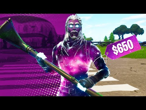 I Paid 650 For The Fortnite Galaxy Skin