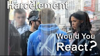 Social experiment #2 - Girl's harassment (Would you React)