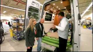 Leisure Travel Vans Factory Tour - with Dean and The Fit RV