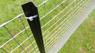 How To Install A Permanent Plastic Fence TENAX MILLENNIUM - Tutorial