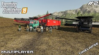Big hravest | Felsbrunn | Multiplayer Farming Simulator 19 | Episode 2