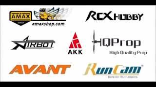 AMAXinno Brushless Motor 1106 6300KV FPV Racing Drone