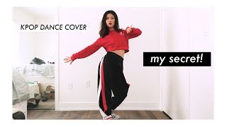 How I Learn & film Kpop Dance Cover In My Room