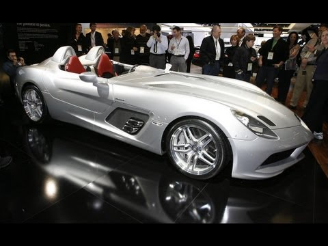 Mercedes-Benz SLR McLaren Stirling Moss Video