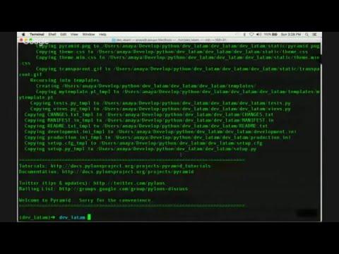 Developers Latinoamérica - (Jesús Anaya) Python Pyramid