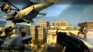 Counter Strike Global Offensive Zombie Escape mod online gameplay on Greencity map