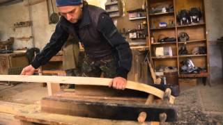 Изготовление лыж для рыбалки