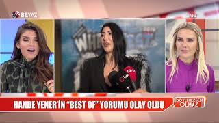 Hande Yener'in 'Best Of' Yorumu Olay Oldu!